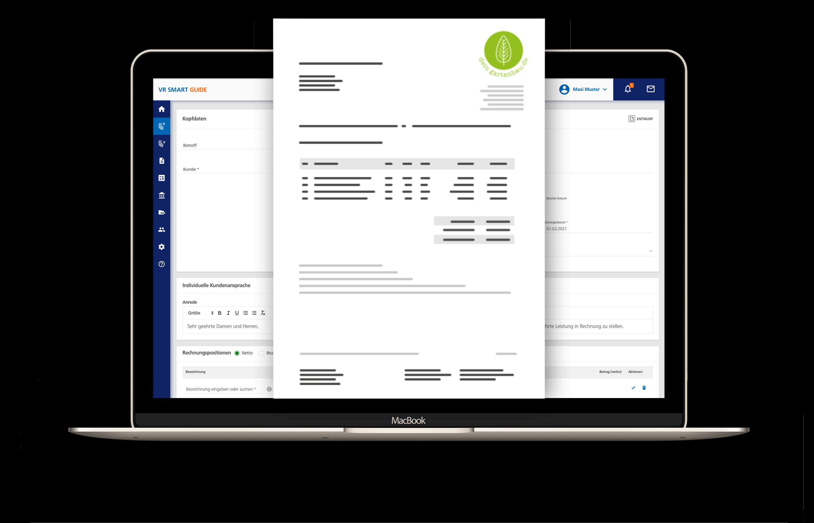 Digitale Angebote & Rechnungen schreiben